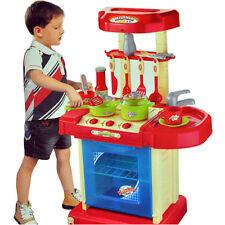 Portatile Elettronico Bambini Ragazzi Cucina Cottura Boy Giocattolo Cucina Set