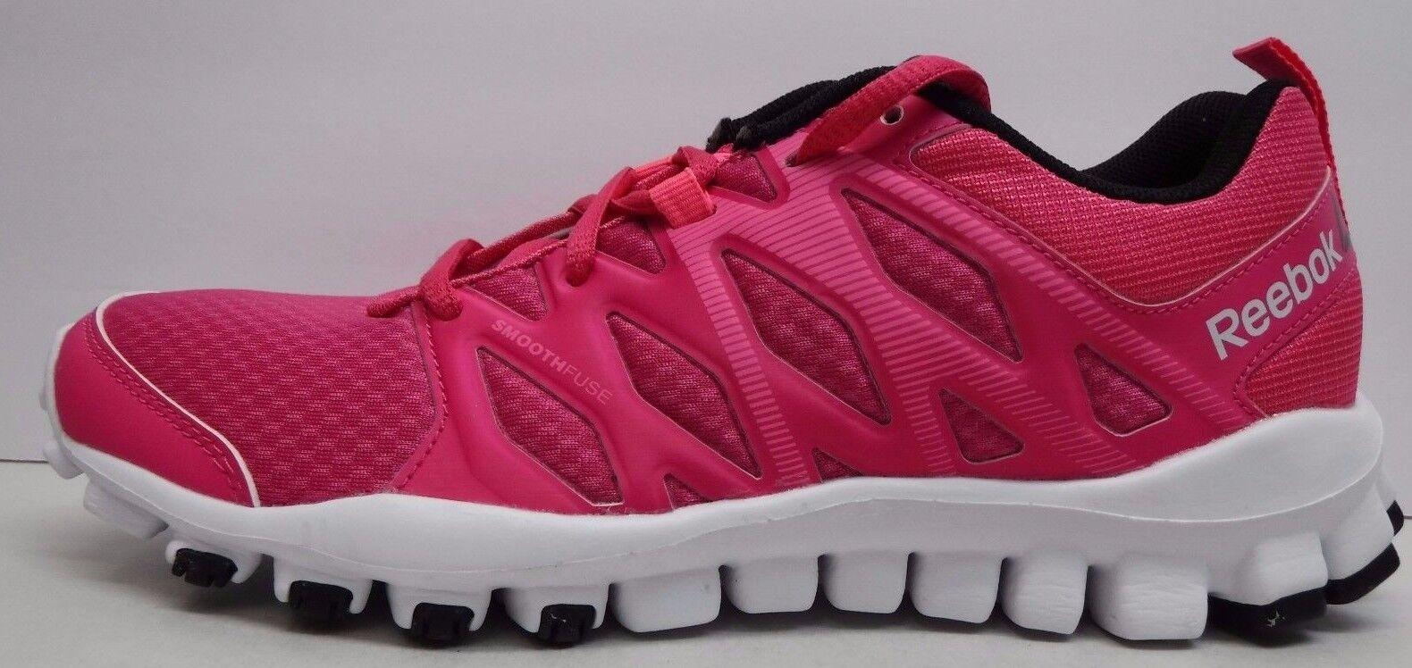 Reebok Training Größe 8.5 RealFlex 4.0 Pink Training Reebok Sneakers New Damenschuhe Schuhes dd3c37