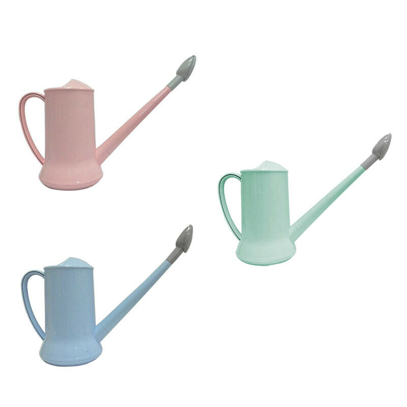 Traditional Watering Can Kettle Garden Long Spout 2 Litre Watering Can/Easy T2G5