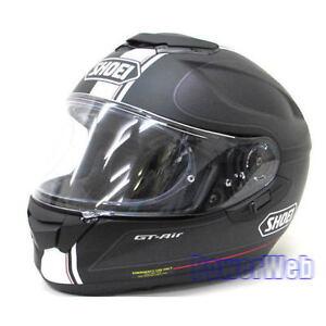 shoei gt air wanderer tc 5 black silver l large helmet. Black Bedroom Furniture Sets. Home Design Ideas