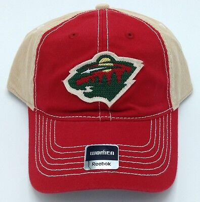 Sports Mem, Cards & Fan Shop Nice Nhl Minnesota Wild Reebok Womens Half Corduroy Adjustable Back Cap #eu82w New Durable Modeling Fan Apparel & Souvenirs