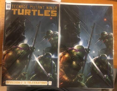 Teenage Mutant Ninja Turtles #80 Francesco Mattina Exclusive VIRGIN /& TD Ltd 500
