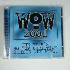WOW-2001-The-Years-039-s-30-Top-Christian-Artists-2CD-Various-Artists