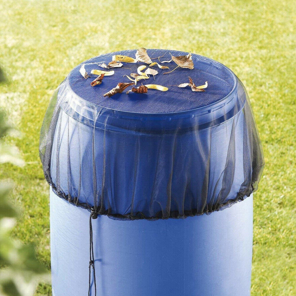 Rain Barrel Mesh Cover Mesh Shield Waterproof for Rain Bucket Prevent Leaves New