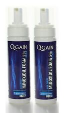 2 x QGAIN MINOXIDIL FOAM 5% 6 Months Supply in total