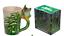 thumbnail 71 - Animal Shaped Handle Ceramic Mug Tea Coffee Cup Novelty Gift Jungle Tropical