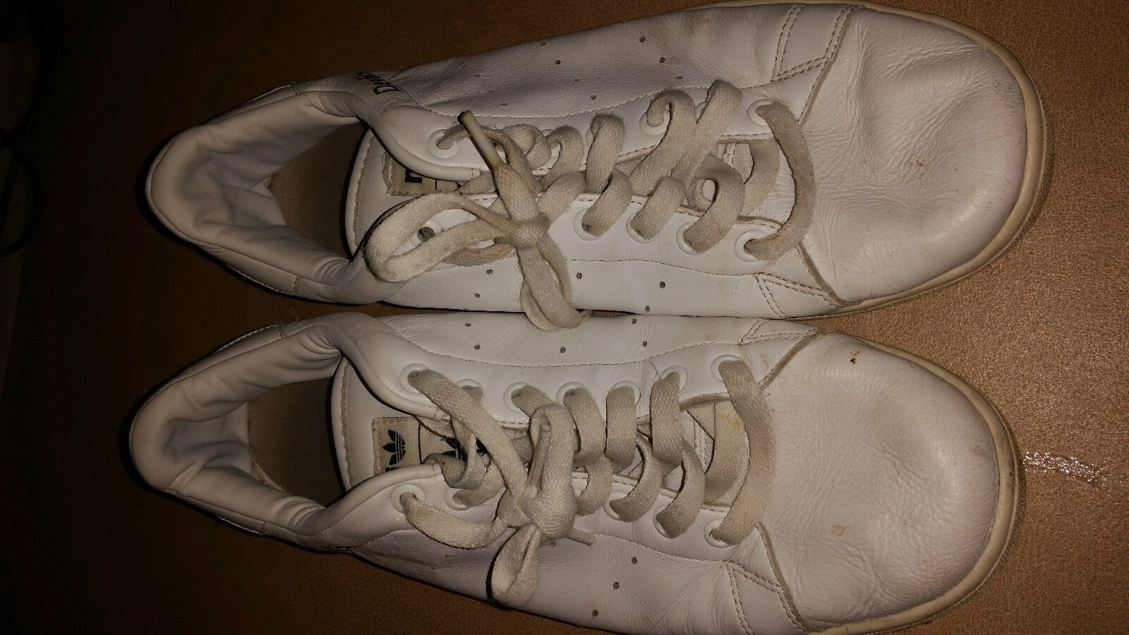 ADIDAS WHITE CLASSICS CUSTOM MADE  TRAINERS SIZE 10 UK DEVLIN best-selling model of the brand