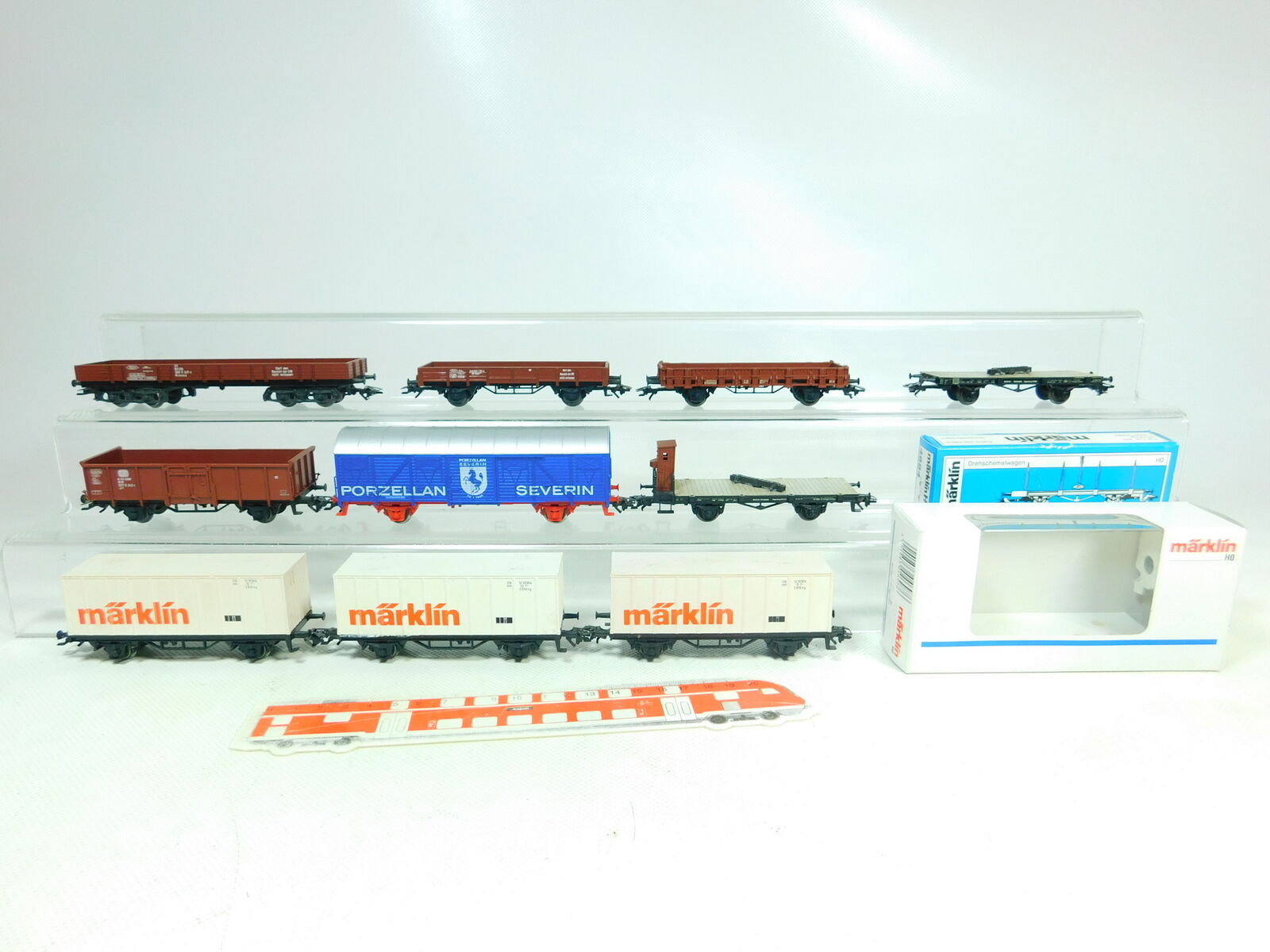 BT633-1 x Märklin H0   Ac Vagón de Mercancía Kk   4697 4684 DRG + Db Etc. ,2.
