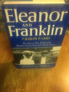 ELEANOR-AND-FRANKLIN-by-Joseph-p-Lash-First-Edition-HC-DJ-Pulitzer-Prize-winner