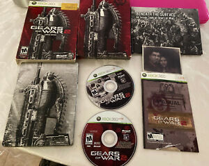 Gears of War 2 Limited Edition for Xbox 360 Fast Shipping!...Tested