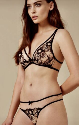 peach Provocateur 32c Mix Janie Bra Agent Match Black Bnwt pYz6q