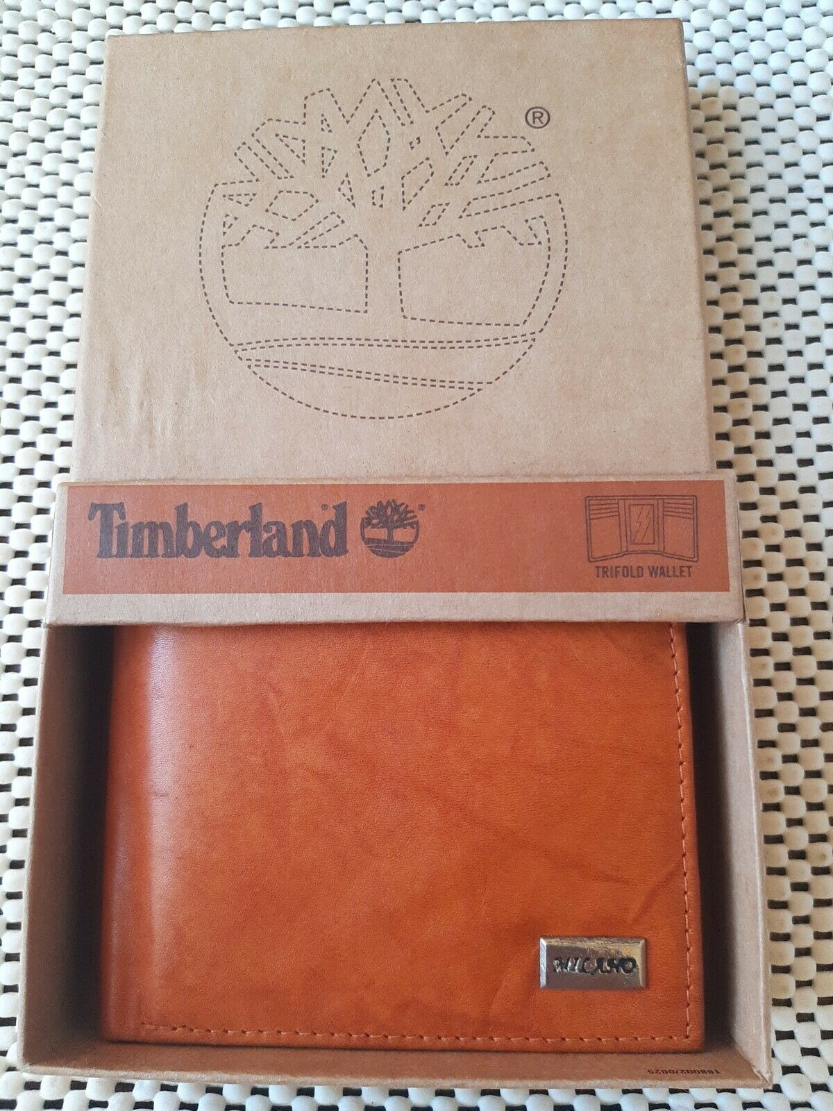 TIMBERLAND Soft Leather Bifold Men's Wallet