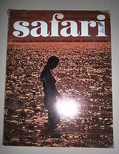 SAFARI-L'AVVENTURA PER L'UOMO DI OGGI # Mensile - Anno II - N11 # Marzo 1973