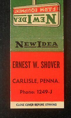 1950s New Idea Farm Equipment Since 1899 Ernest W Shover