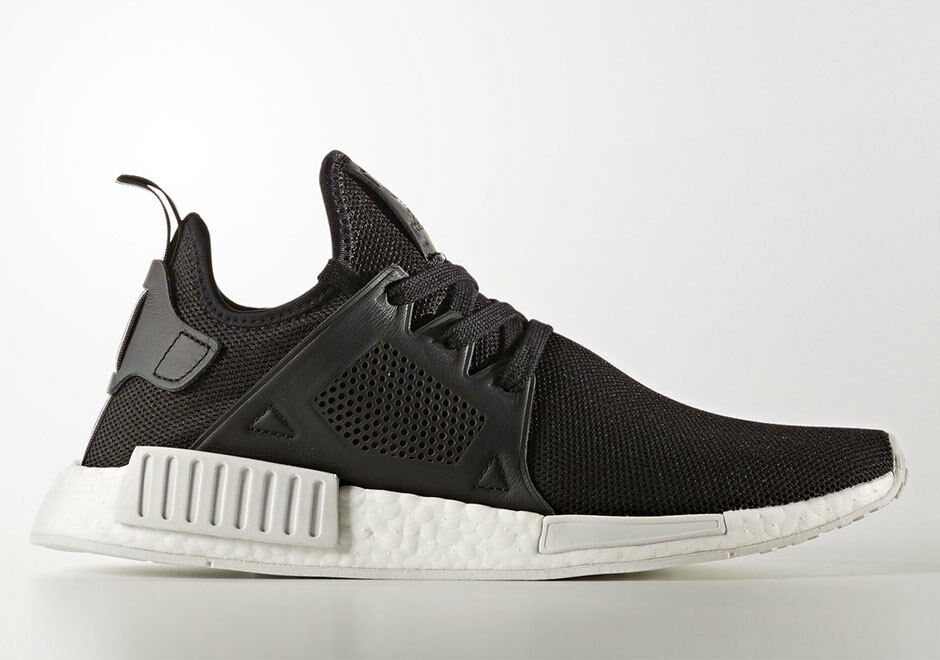 NEW Adidas Originals NMD XR1 Boost Black White Leather BY9921