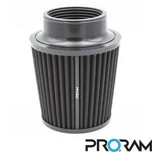 Proram-Universal-90mm-ID-Cuello-rendimiento-alto-caudal-de-Induccion-Cono-Filtro-De-Aire