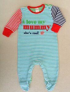 NEXT-Baby-Boys-Girls-Multi-Coloured-I-Love-My-Mummy-Babygrow-Sleepsuit-0-3months