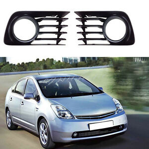 Fit Toyota PRIUS 2004-2009 Fog Light Lamp Hole Cover Lower Grille Without Hole