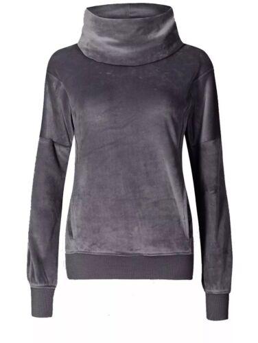 B.New Ex M/&S Super Soft Cosy Fleece Long Sleeve Pyjama Leisure Top Sizes 6-22