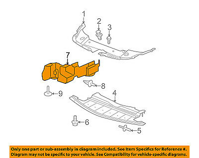 Chevrolet GM OEM 08-12 Malibu Splash Sheild-Under Engine//Radiator 15826162
