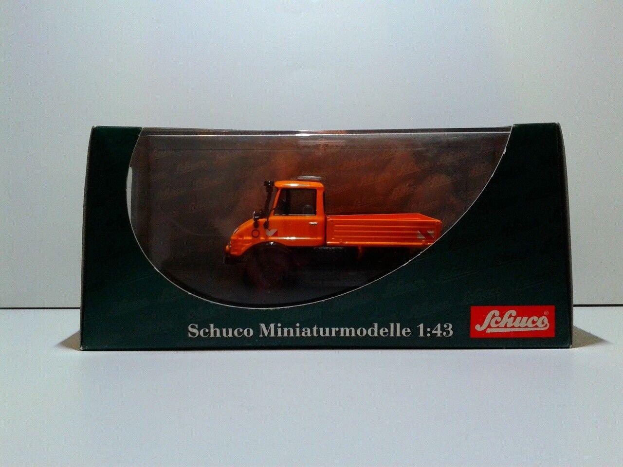 moda Schuco 03151 Mercedes Benz Unimog 406 Strassenmeisterei 1 1 1 43 OVP MIB  los clientes primero