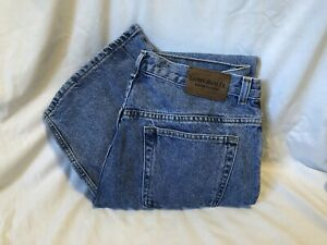 RALPH LAUREN JEANS Faded Blue Cotton Denim Jeans Womens Size 14W