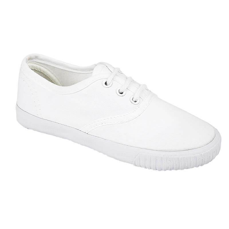 Boys Girls Unisex Strap Fastening PE Gym Sports Pumps Plimsoles Plimsolls Shoes