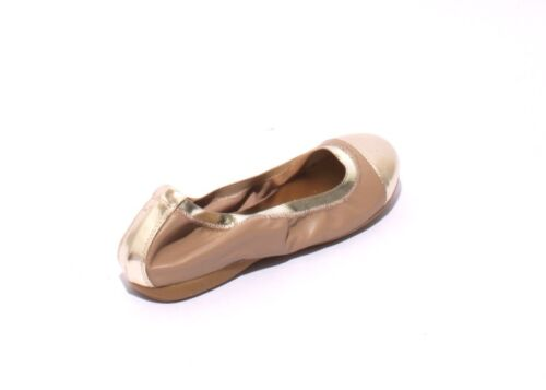 Beige Flats Us Gold 36 5207a Leather Comfortable Mally 6 Soft Ballet Pxq1fHB66w
