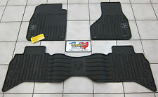 2013-2017 Dodge Ram Quad Cab All Weather Rubber Slush Floor Mats Mopar OEM