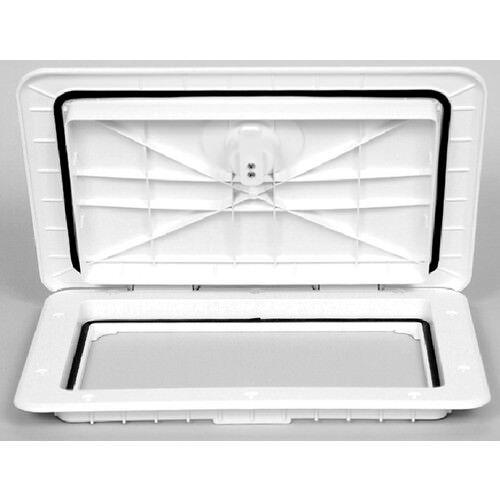 "Watertight Marine//Boat Compartment Access Hatch 13/"" x 30/"" White"