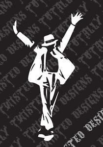 Michael Jackson Silhouette Car Truck Vinyl Decal Sticker Cool Bad