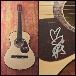GFA Home to Me SARAH DARLING Signed Autographed Acoustic Guitar COA