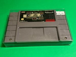 RARE-WILLIAMS-ARCADE-GREATEST-HITS-SUPER-NINTENDO-SNES-WORKING-GAME