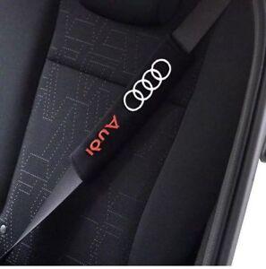 100% di alta qualità migliore qualità materiali superiori Dettagli su Coppia Copri Cintura di Sicurezza AUDI S LINE A1 A3 A4 A5 A6 A7  Q5 Q3 Q7 TT RS