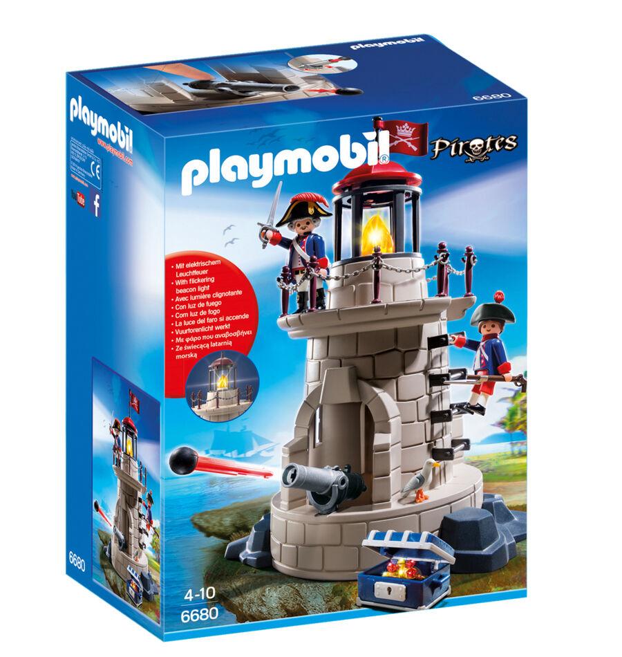 PLAYMOBIL 6680-soldati torre con faro   all'ingrosso a buon mercato