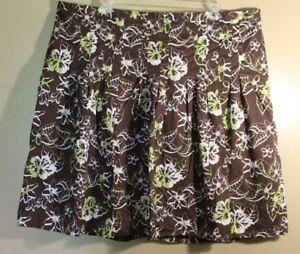 0246770b406fa CJ Banks Women s Plus Size 3X Floral Skirt Career  MINT