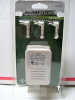 Menards Master Force 4.5-volt 3-outlet Ac To Dc Power Adaptor