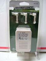 Menards Master Force 4.5-volt 3-outlet Ac To Dc Power Adaptor