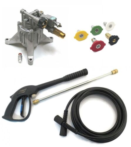 POWER PRESSURE WASHER WATER PUMP /& SPRAY KIT Fits Many Makes /& Models!