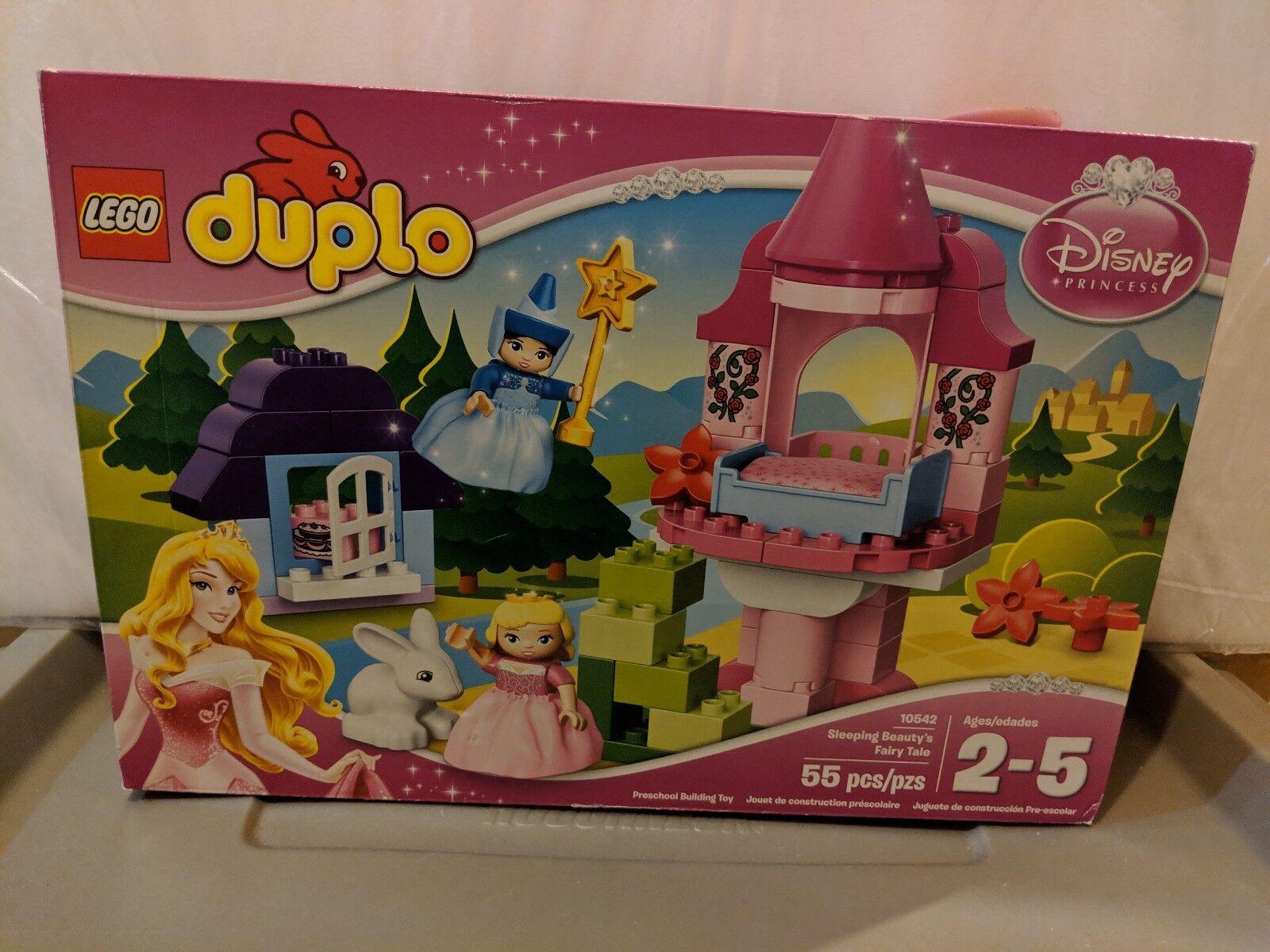 New in Sealed Box - Duplo - Lego 10542 Sleeping Beauty's Fairy Tale