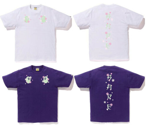 2019 S//S A BATHING APE Men/'s SAKURA SOUVENIR TEE 2colors From Japan New S-XXL *