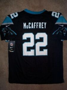 new products fb4d6 a7dac Details about NIKE Carolina Panthers CHRISTIAN McCAFFREY nfl Jersey YOUTH  KIDS BOYS (L-LARGE)