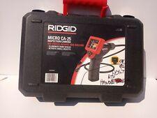 Ridgid 40043 Model Micro Ca 25 Hand Held Borescope Inspection Camera 4 Reach