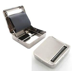 Automatic-Cigarette-Tobacco-Roller-Rolling-Machine-Box-Metal-70mm-case