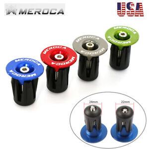 MEROCA-Bike-Handlebar-End-Plugs-22-24mm-Aluminum-MTB-Mountain-Bicycle-Bar-Ends
