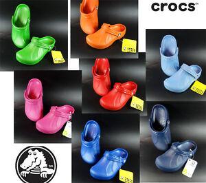 Crocs-Aspen-Endeavor-Kinder-Clogs-Gartenschuhe-Hausschuhe-Schuhe-Sandalen-NEU