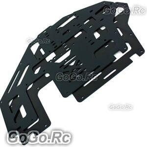 2-Pcs-Aluminum-Metal-Main-Frame-Black-for-Trex-T-rex-500-Helicopter-GH500-005