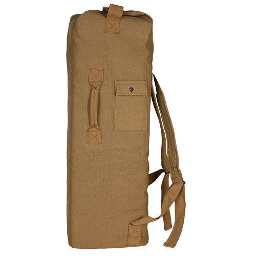 Duffel Bag US Military HEAVY DUTY 2 STRAP USMC Army Desert Tan Khaki  22 x 38