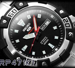 Seiko-Automatique-SRP471K1-Montre-24-Bijoux-Homme-Neuf-avec-Boite-et-Garantie