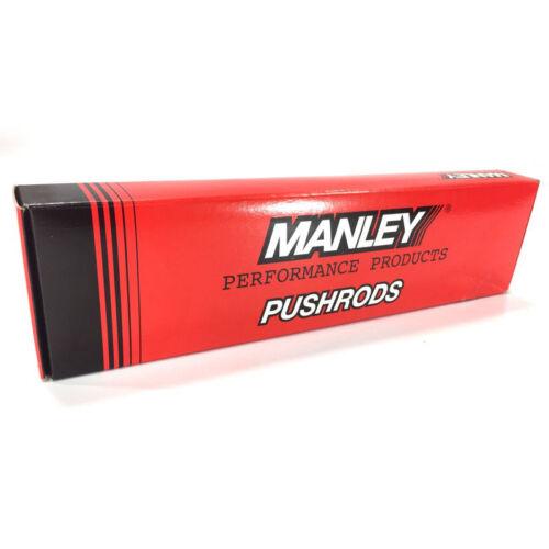"""Manley Engine Push Rod Set 25335-8; 1pc 4130 Chromoly .135/"""" Wall 3//8/"""" 7.800/"""""""